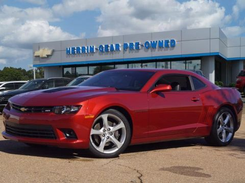 Pre-Owned 2015 Chevrolet Camaro 2dr Cpe SS w/2SS