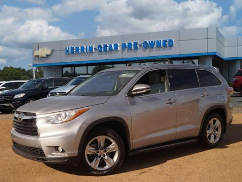 Pre-Owned 2014 Toyota Highlander AWD 4dr V6 Limited Platinum