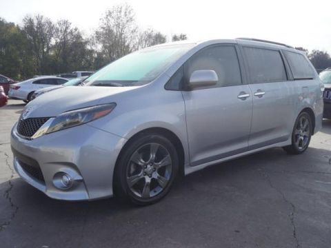 Pre-Owned 2015 Toyota Sienna 5dr 8-Pass Van SE FWD